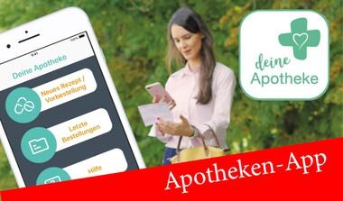 Mobiler Kontakt zur Apotheke - Apotheken-App