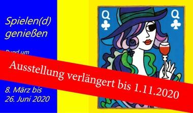 """Ausstellung: """"Spielen (d) genießen"""" - Deutsches Spielkartenmuseum"""