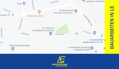 Echterdingen Nord - Strassenarbeiten beginnen (22.7.-15.12.)