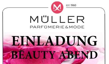 Einladung: Beauty Abend bei Parfümerie + Mode Müller
