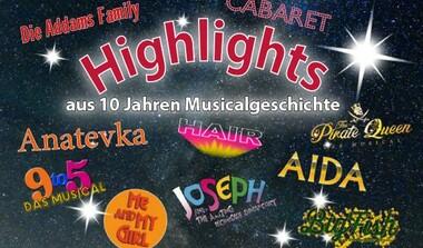 Musical-Show auf der Freilichtbühne: Highlights - aus 10 Jahren Musicalgeschichte