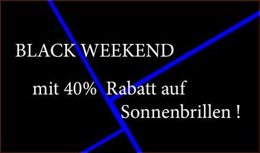 Black Weekend bei BÖHME Sehen + Hören mit 40% Rabatt auf Sonnenbrillen
