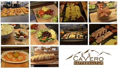 CaVero steht für täglich ofenfrische Backwaren und Torten