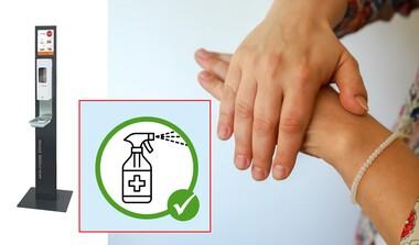 Desinfektionsmittel in großen Gebinden zum Abfüllen vor Ort | Bodenspender