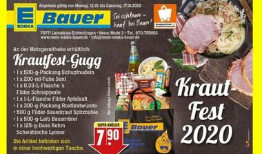 Krautfest-Gugg vom Edeka Bauer