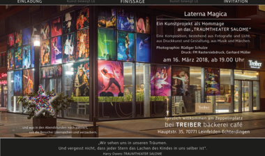 Laterna Magica - Hommage an Traumtheater Salome
