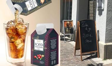 Eisgekühlt und heißbeliebt: Ronnefeldt Eistee frisch aus dem Kühlschrank