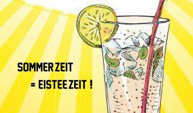 Sommer . Hitze . Eistee – Große Auswahl bei Tee&Bohne