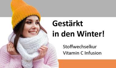 Stärken Sie jetzt Ihr Immunsystem: VitaminC-Infusion oder Stoffwechselkur