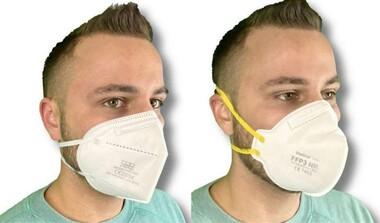CE zertifizierte FFP2 und FFP3 Masken zu Sonderpreisen