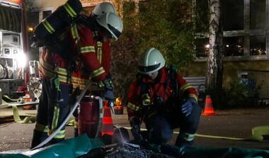 Bei der Freiwilligen Feuerwehr ist helfen in Not höchstes Gebot
