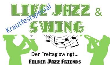 Live: Jazz + Swing mit Filderer Jazz Friends