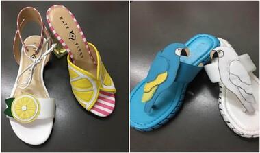 Katy Perry mit neuer Schuhkollektion - Statements für Frühjahr/Sommer 2018