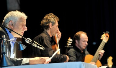 Konzert: Udo Wachtveitl & Gitarrenduo Gruber / Maklar