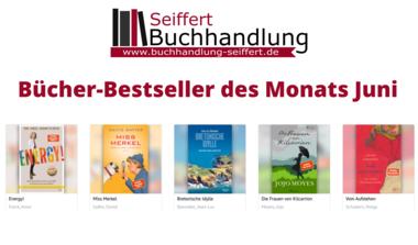 Bücher-Bestseller des Monats Juni