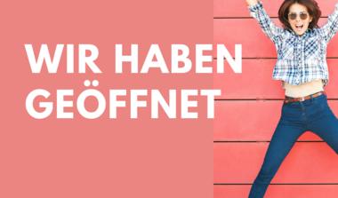 Müller Parfümerie + Mode hat wieder geöffnet