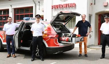 190 PS für unsere Sicherheit: Feuerwehr LE hat neuen Kommandowagen