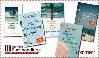Brandneu, spannend oder einfach schön - Ihr Lesestoff für den Sommer