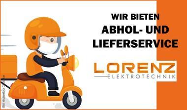 (ent)spannungsvoller Abhol- und Lieferservice von Lorenz Elektrotechnik