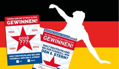 olt Deutschland bei der WM den 5. Stern? Tippen Sie mit!