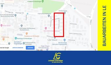Baustelle: Gas- und Wasserleitungen Ludwig-Dürr-Strasse (16.09.-24.12.)