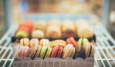 Macarons bei Tee & Bohne in Echterdingen