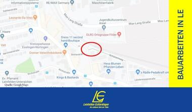 Sperrung der Unterführung Markomannenstraße – AREAL (7.10.-15.11.)