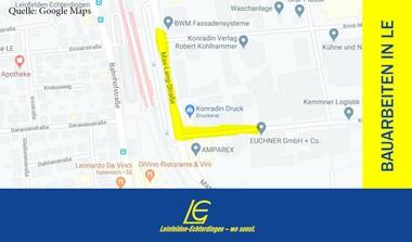 Vollsperrung: Max-Lang-Straße, Einmündung Kohlhammerstraße ab August 2020