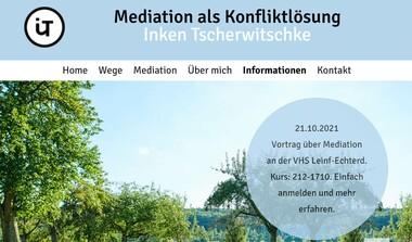 Mediation - Konfliktlösung mit Gewinn für alle Beteiligten (21.10.21)