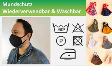 wiederverwendbare Masken auch bei MELA CAFE in Echterdingen erhältlich