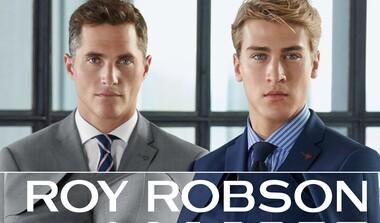 Roy Robson bei Modehaus Kehrer - Business Mode voll im Trend