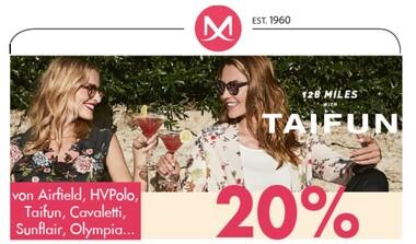 Großes Sommer-Sale: 20% auf bereits reduzierte Ware