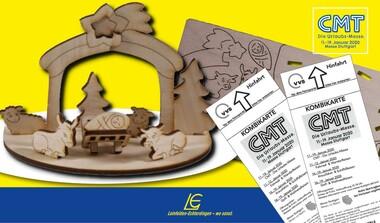 Sonderpreis: 2x CMT Kombikarte inkl. VVS und 3D-Holzkrippe