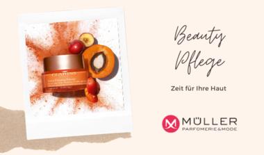 Beauty Experten von Clarins für Ihre Haut - bis zum 4.5. inkl. Geschenk