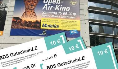 Teilnahmebedingungen zum OpenAirKino-Gewinnspiel auf Facebook