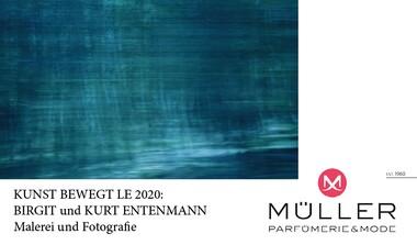Müller Parfümerie + Mode präsentiert BIRGIT + KURT ENTENMANN . Malerei + Fotografie