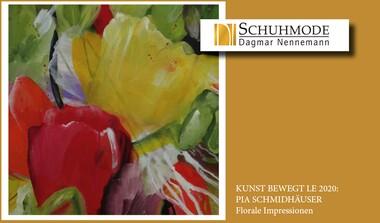 Schuhmode Nennemann präsentiert PIA SCHMIDTHÄUSER . Florale Impressionen