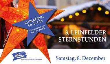 Leinfelder Sternstunden - Weihnachtsmarkt am Neuer Markt