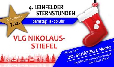 Hey Kiddies: Holt Euch den VLG Nikolaus-Stiefel