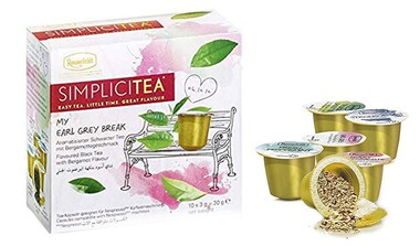 Simplicitea Teekapseln für die Nespresso-Maschine