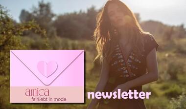 Newsletter von fairliebt in mode, denn auch bei 'slow-Fashion' gibt es ab und zu was Neues ...