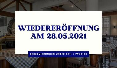 Paulaner am Kirchplatz ab 28.5. wieder geöffnet.