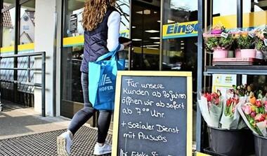 EDEKA Musberg ab 7 Uhr für 70+ geöffnet