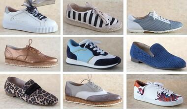 Shoes, made for walking - Einzelpaare führender Hersteller zu 50 Euro