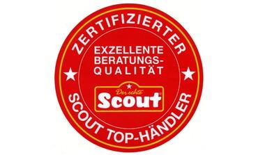Villa Leinfelden ausgezeichneter SCOUT TOP-HÄNDLER