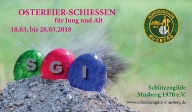 SGI Musberg Ostereierschießen - ein Spaß für Jung und Alt