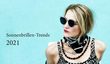 Sonnenbrillen-Trends 2021: grelle Farben & aufregende Formen