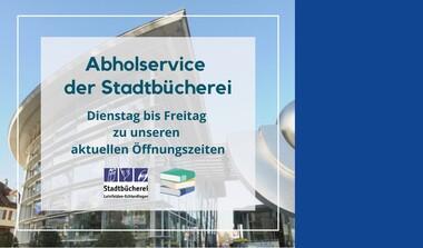 Abholservice der Stadtbücherei Leinfelden-Echterdingen im Lockdown