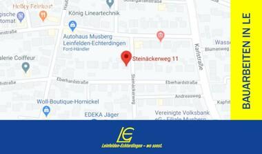 Sperrung: Steinäckerweg in Musberg (6. - 14.08.)