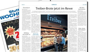 Bäckerei Treiber eröffnet neue Filiale im REWE Bernhausen